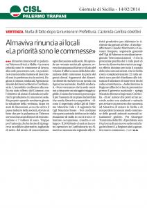 Almaviva Rinuncia ai locali «La priorità sono le commesse»