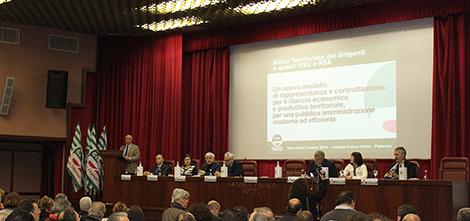 Attivo Territoriale dei dirigenti e quadri RSU e RSA della Ust Cisl Palermo Trapani