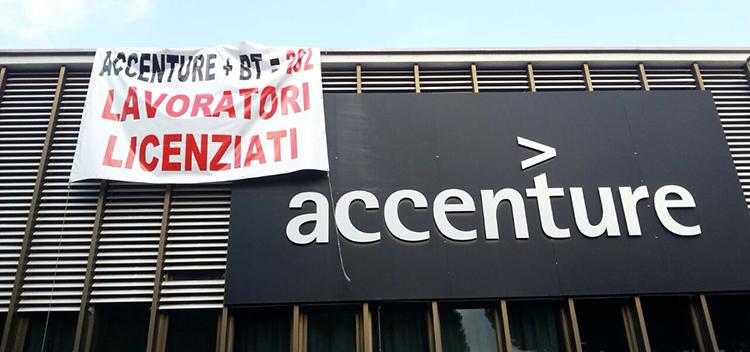 """Vertenza Accenture, avviata mobilità, Cisl """"continua la battaglia"""""""