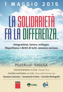 PRIMO MAGGIO 2015 – POZZALLO (Rg)